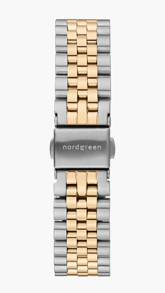 Nordgreen ノードグリーン 2021年9月発売 新色 5リンクブレス シルバーゴールド_SI-GO_5-LINK-STRAP
