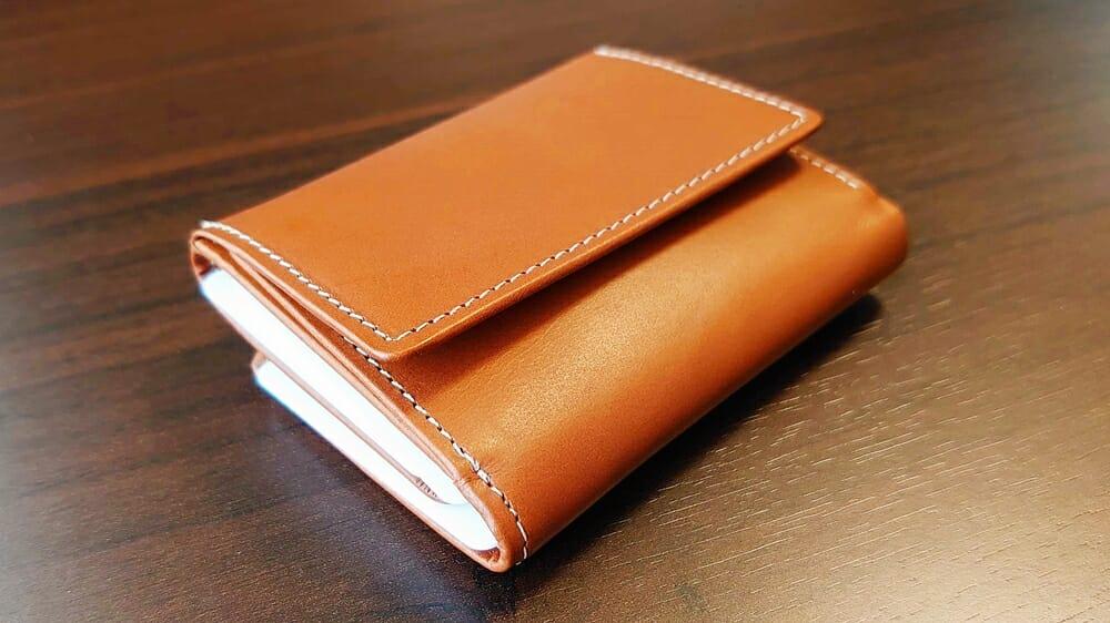 山藤 YAMATOU ミニミニウォレット Tito Alonso ティートアロンソ TA310300 ブラウン メンズ財布 レビュー お金 カード 収納