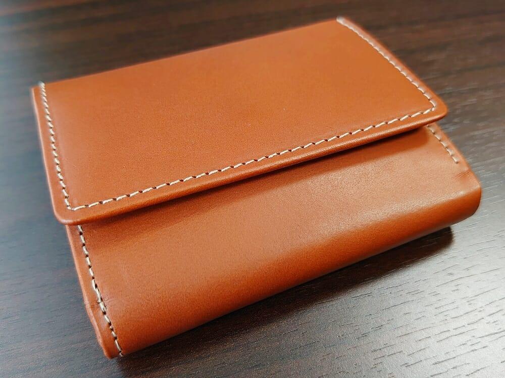 山藤 YAMATOU ミニミニウォレット Tito Alonso ティートアロンソ TA310300 ブラウン メンズ財布 デザイン(小銭入れ側)1