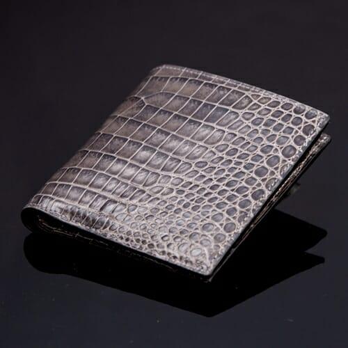 無双二つ折り財布(切り目)縦カード [HI1302M]GAUDIE(ガウディ)