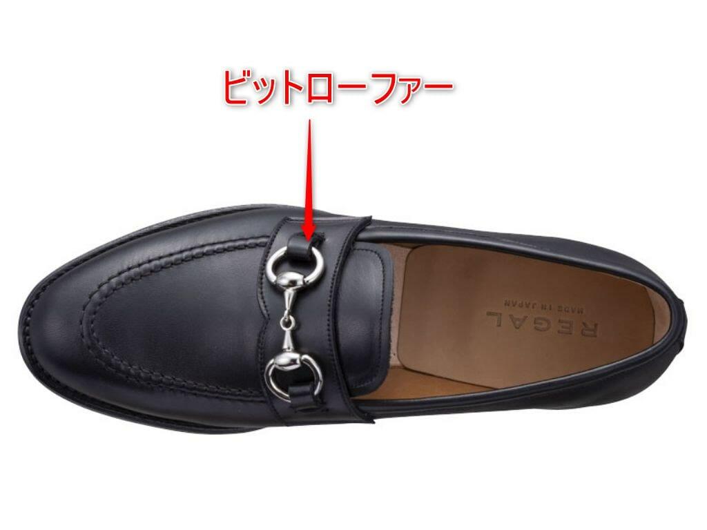 革靴 ビットローファーの解説