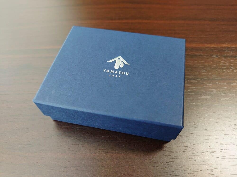 山藤 YAMATOU ミニミニウォレット Tito Alonso ティートアロンソ TA310300 ブラウン メンズ財布 レビュー パッケージング 外箱
