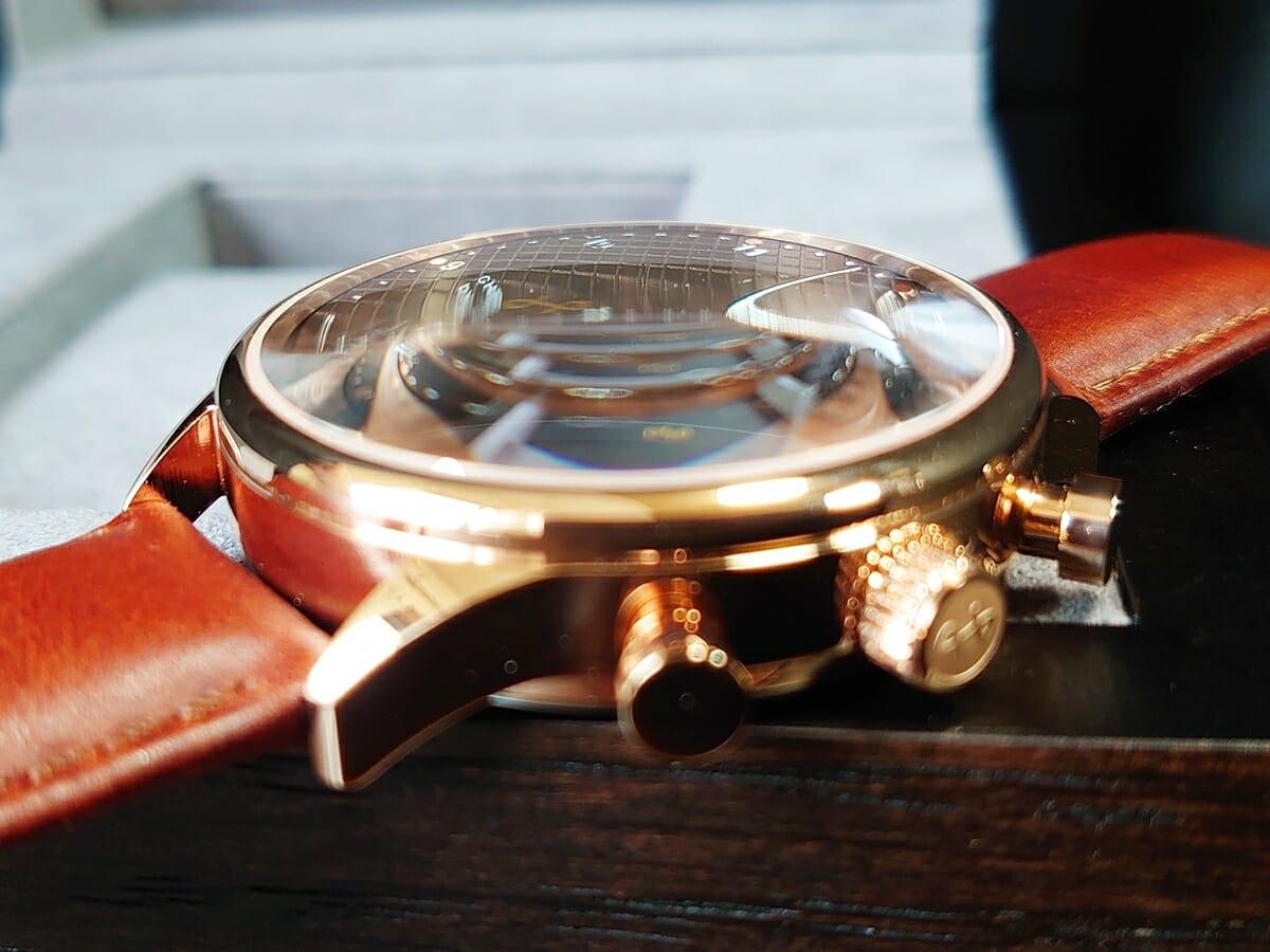About Vintage アバウトヴィンテージ 1815 Seasar Chronograph ドーム型サファイアガラス
