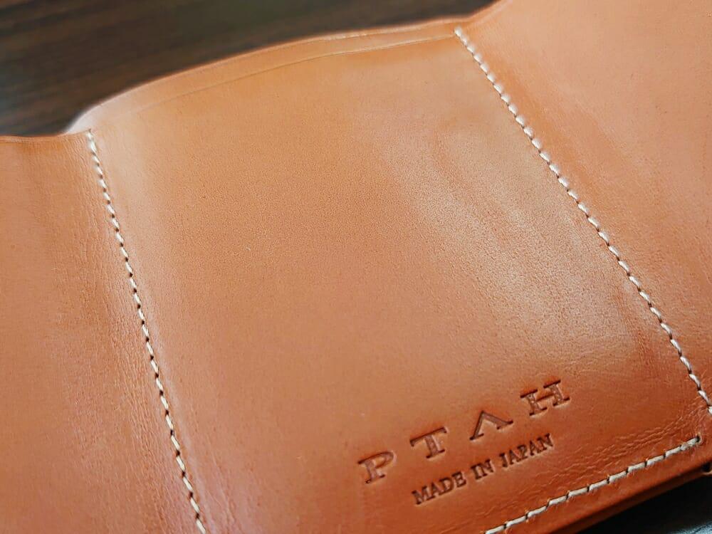 山藤 YAMATOU ミニミニウォレット Tito Alonso ティートアロンソ TA310300 ブラウン メンズ財布 レザーの質感
