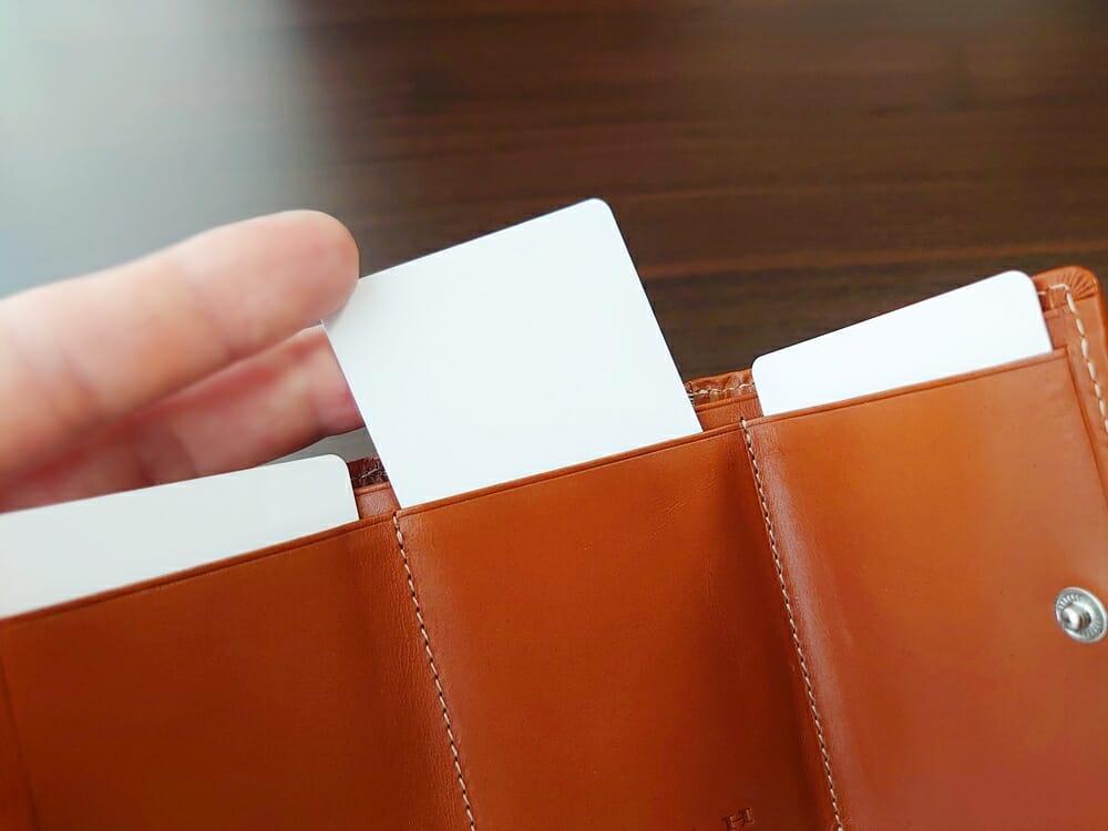 山藤 YAMATOU ミニミニウォレット Tito Alonso ティートアロンソ TA310300 ブラウン メンズ財布 カード入れの使い心地2