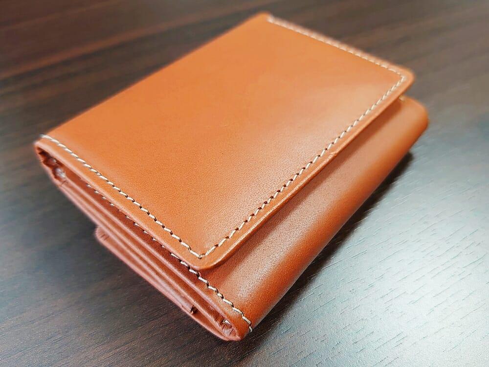 山藤 YAMATOU ミニミニウォレット Tito Alonso ティートアロンソ TA310300 ブラウン メンズ財布 デザイン(見開き側)2