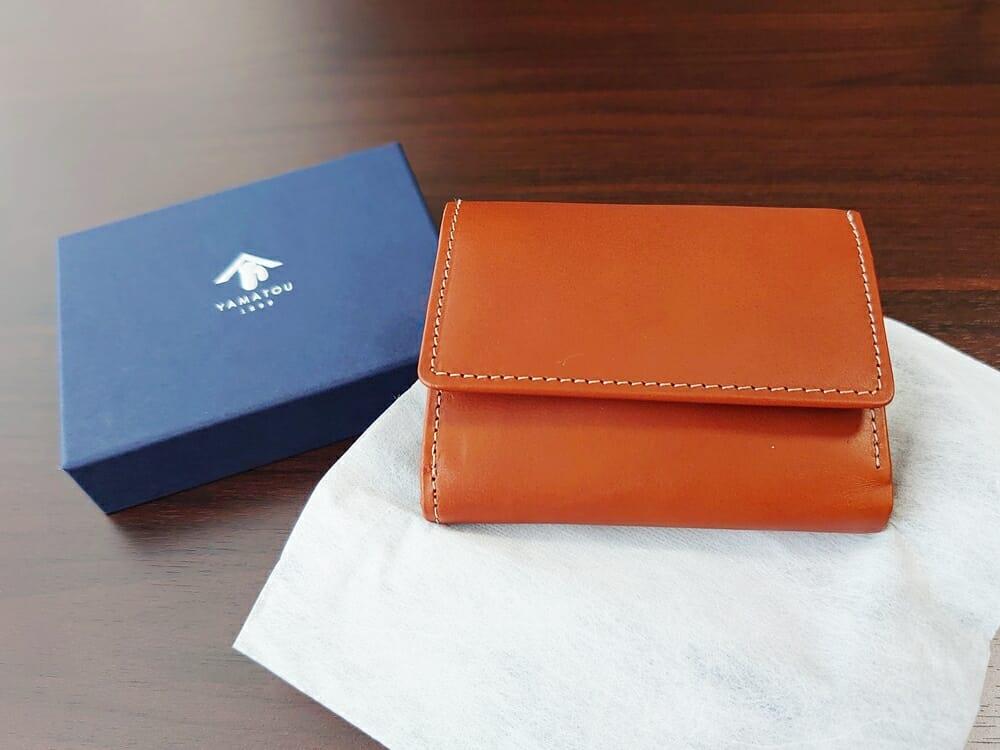 山藤 YAMATOU ミニミニウォレット Tito Alonso ティートアロンソ TA310300 ブラウン メンズ財布 レビュー パッケージング 不織布 財布