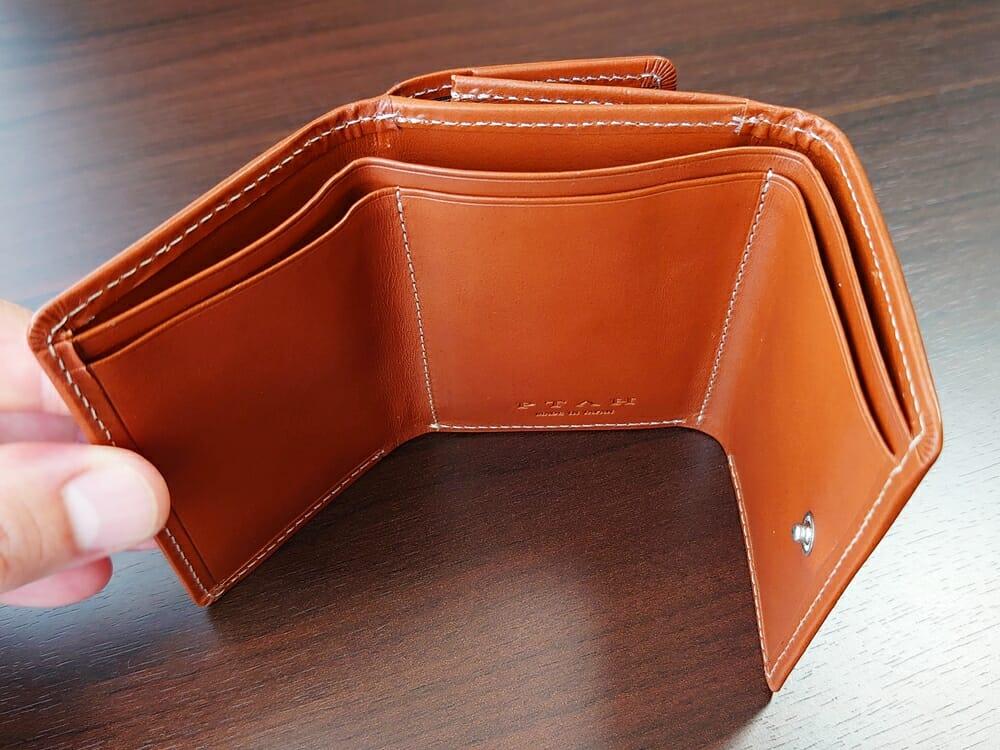 山藤 YAMATOU ミニミニウォレット Tito Alonso ティートアロンソ TA310300 ブラウン メンズ財布 札入れ 仕様2