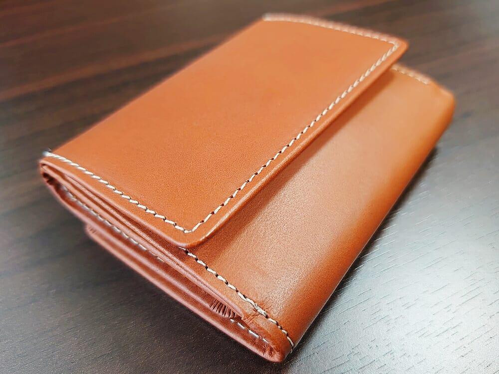 山藤 YAMATOU ミニミニウォレット Tito Alonso ティートアロンソ TA310300 ブラウン メンズ財布 デザイン(小銭入れ側)2