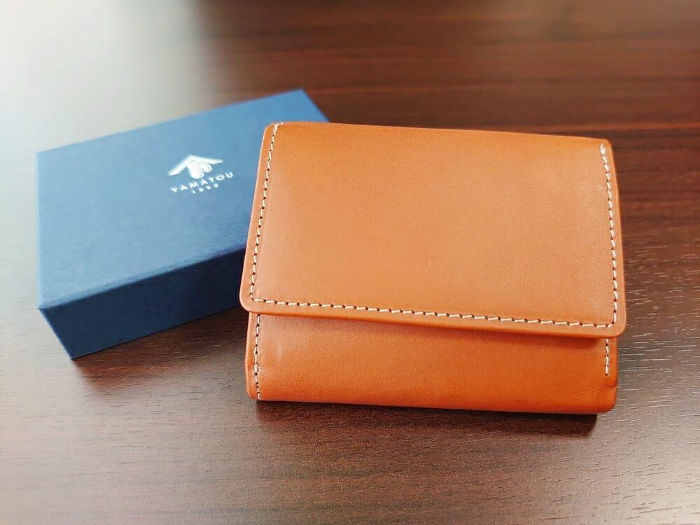 山藤 YAMATOU ミニミニウォレット Tito Alonso ティートアロンソ TA310300 ブラウン メンズ財布 レビュー