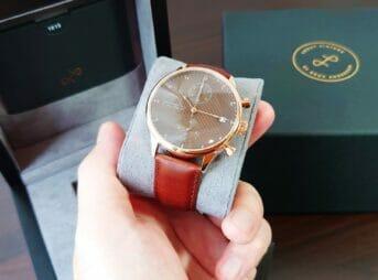 About Vintage アバウトヴィンテージ 1815 Seasar Chronograph Rose gold Brown Seasar 数量限定モデル レビュー