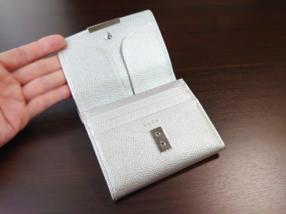 山藤 YAMATOU マルチパーパス サファイアシュリンク SS210500 シーシェルピンク レディース財布 内装デザイン2