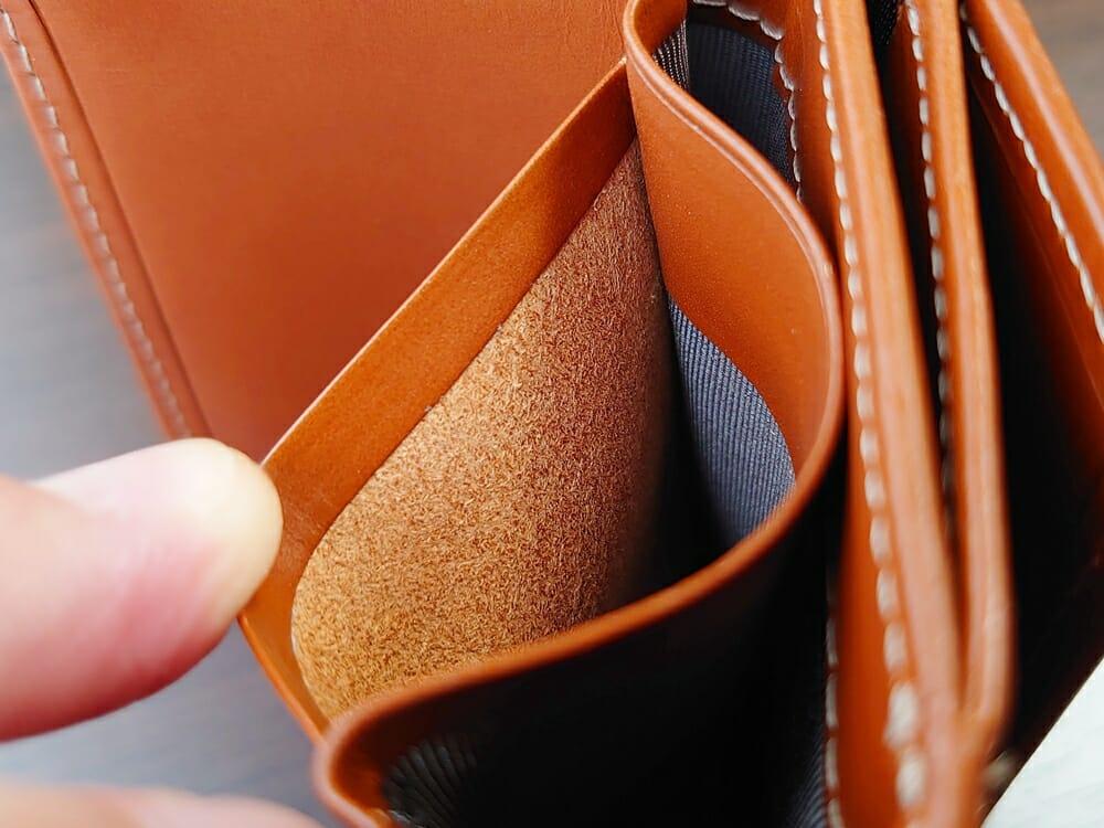 山藤 YAMATOU ミニミニウォレット Tito Alonso ティートアロンソ TA310300 ブラウン メンズ財布 カードポケット 仕様2