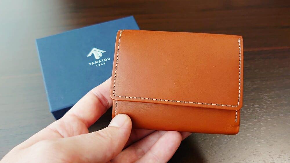 山藤 YAMATOU ミニミニウォレット Tito Alonso ティートアロンソ TA310300 ブラウン メンズ財布 レビュー カスタムファッションマガジン