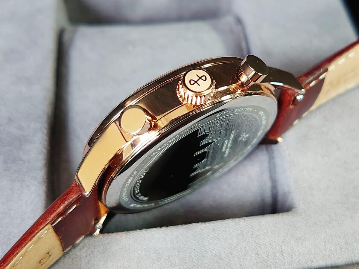 About Vintage アバウトヴィンテージ 1815 Seasar Chronograph ローズゴールドケース リューズ