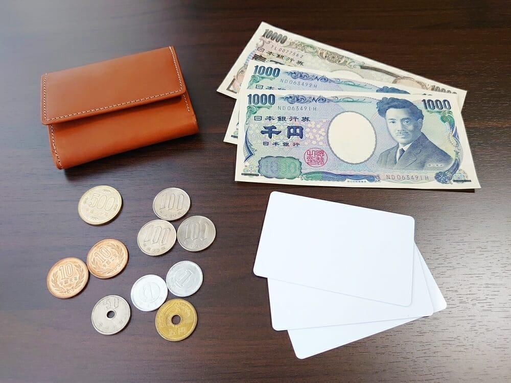 山藤 YAMATOU ミニミニウォレット Tito Alonso ティートアロンソ TA310300 ブラウン メンズ財布 お金とカードを入れる