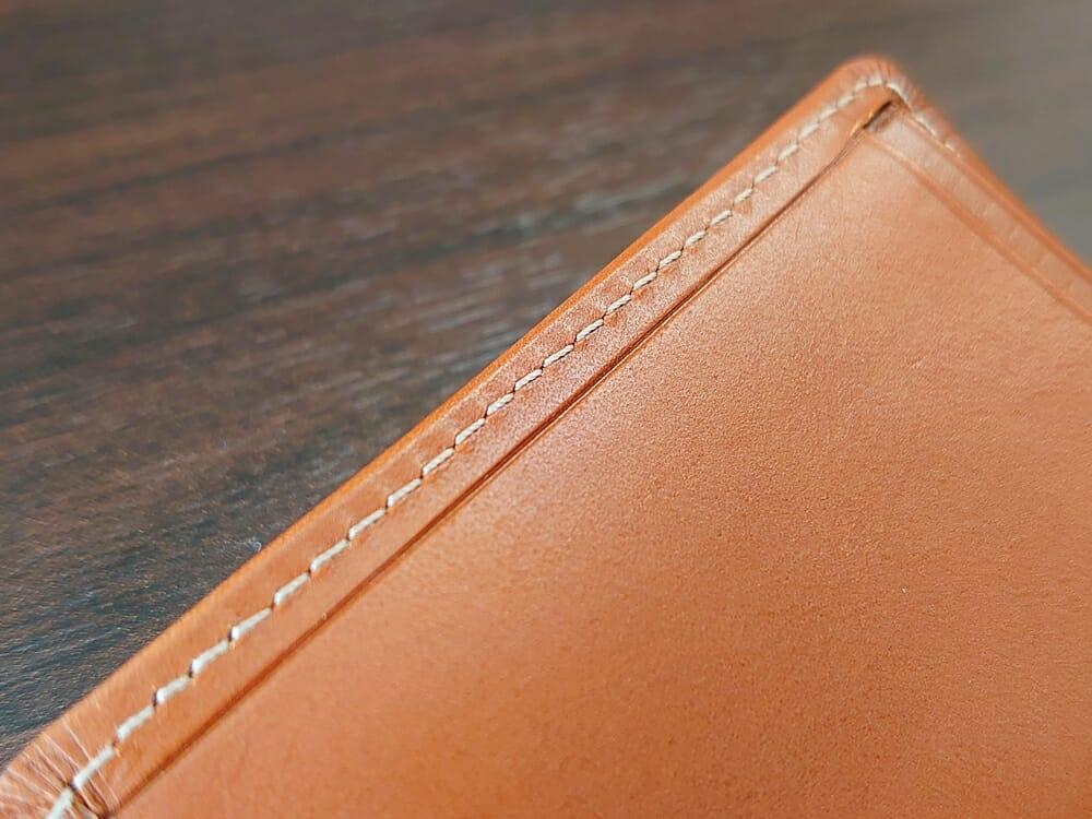 山藤 YAMATOU ミニミニウォレット Tito Alonso ティートアロンソ TA310300 ブラウン メンズ財布 ステッチ