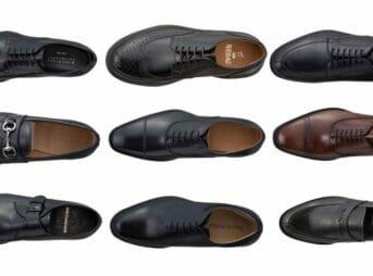 革靴の種類と選び方!シーン別に最適な形やデザインを解説 アイキャッチ