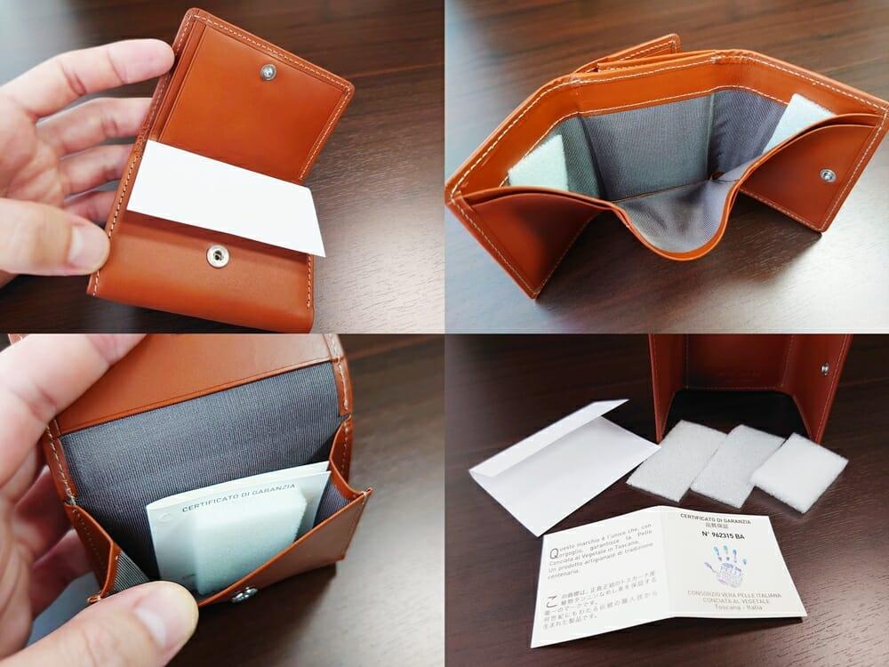 山藤 YAMATOU ミニミニウォレット Tito Alonso ティートアロンソ TA310300 ブラウン メンズ財布 緩衝材 保護紙
