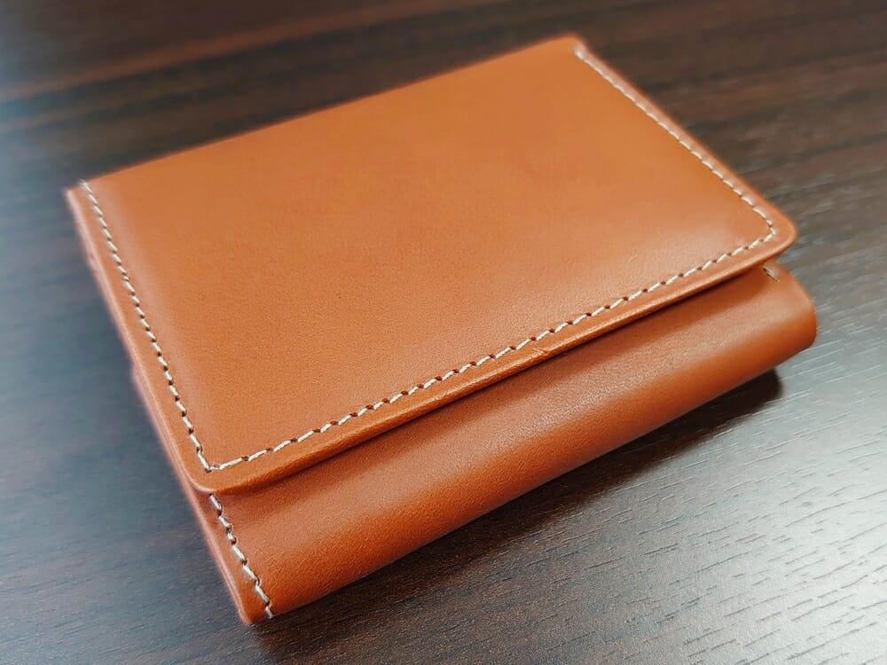 山藤 YAMATOU ミニミニウォレット Tito Alonso ティートアロンソ TA310300 ブラウン メンズ財布 デザイン(見開き側)1