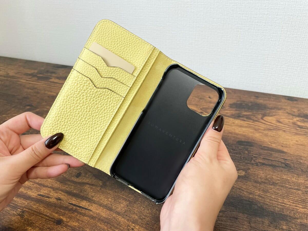 ボナベンチュラiPhoneケース カードポケット