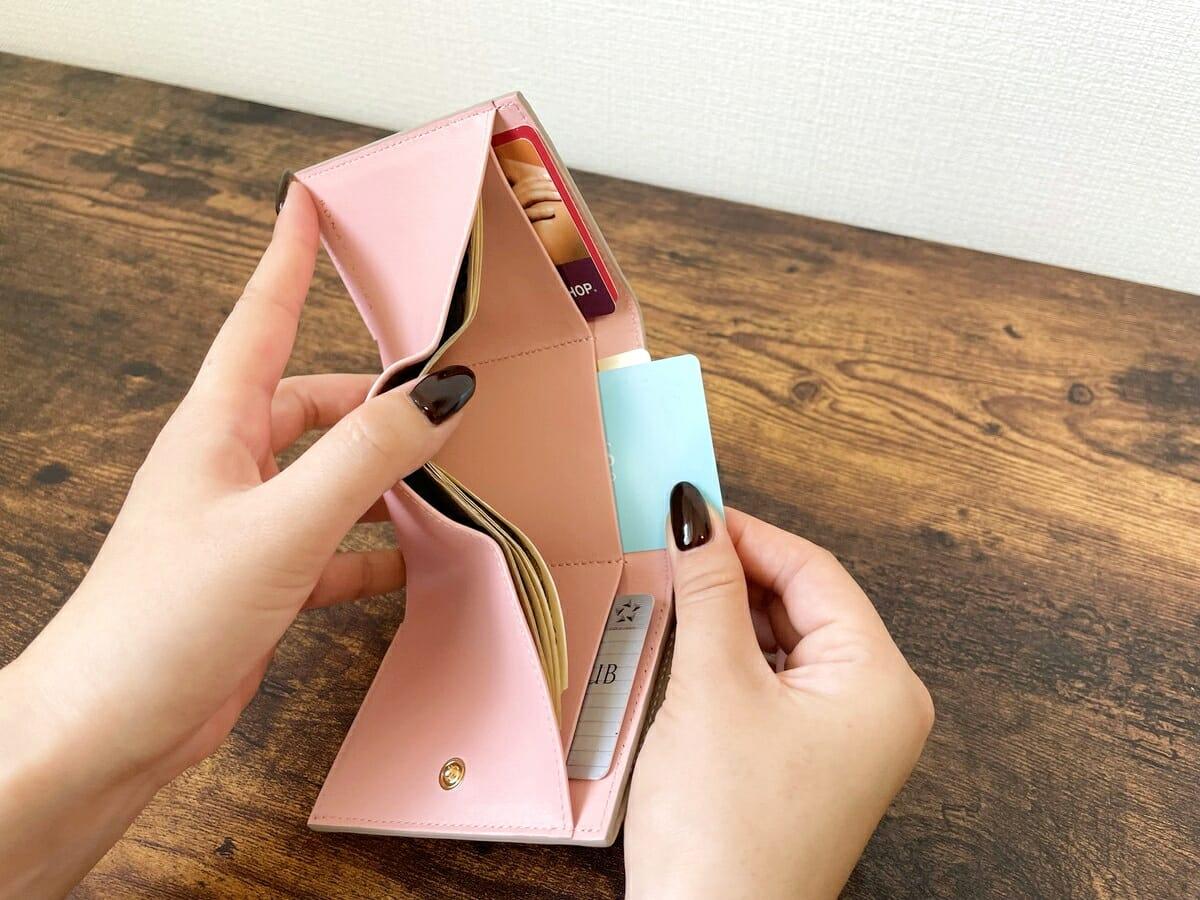 スモールウォレット カードポケット2