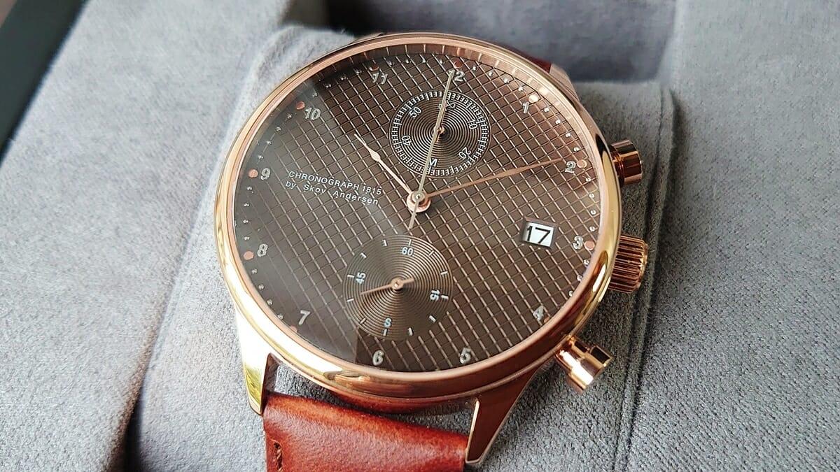 About Vintage アバウトヴィンテージ 1815 Seasar Chronograph Rose gold Brown Seasar 数量限定モデルをレビュー