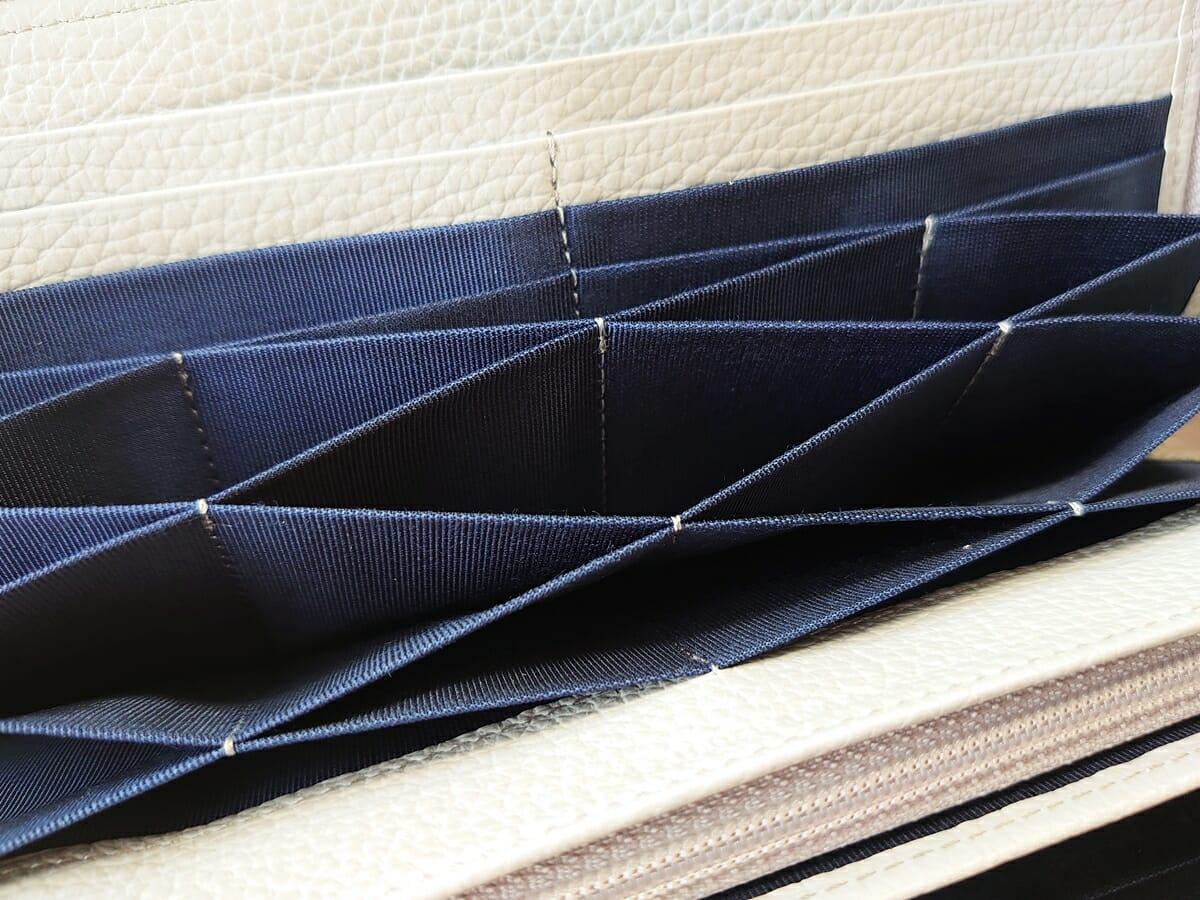キプリス(CYPRIS)ラウンドファスナーハニーセル長財布(カスタムオーダー)丁寧な仕立て 3