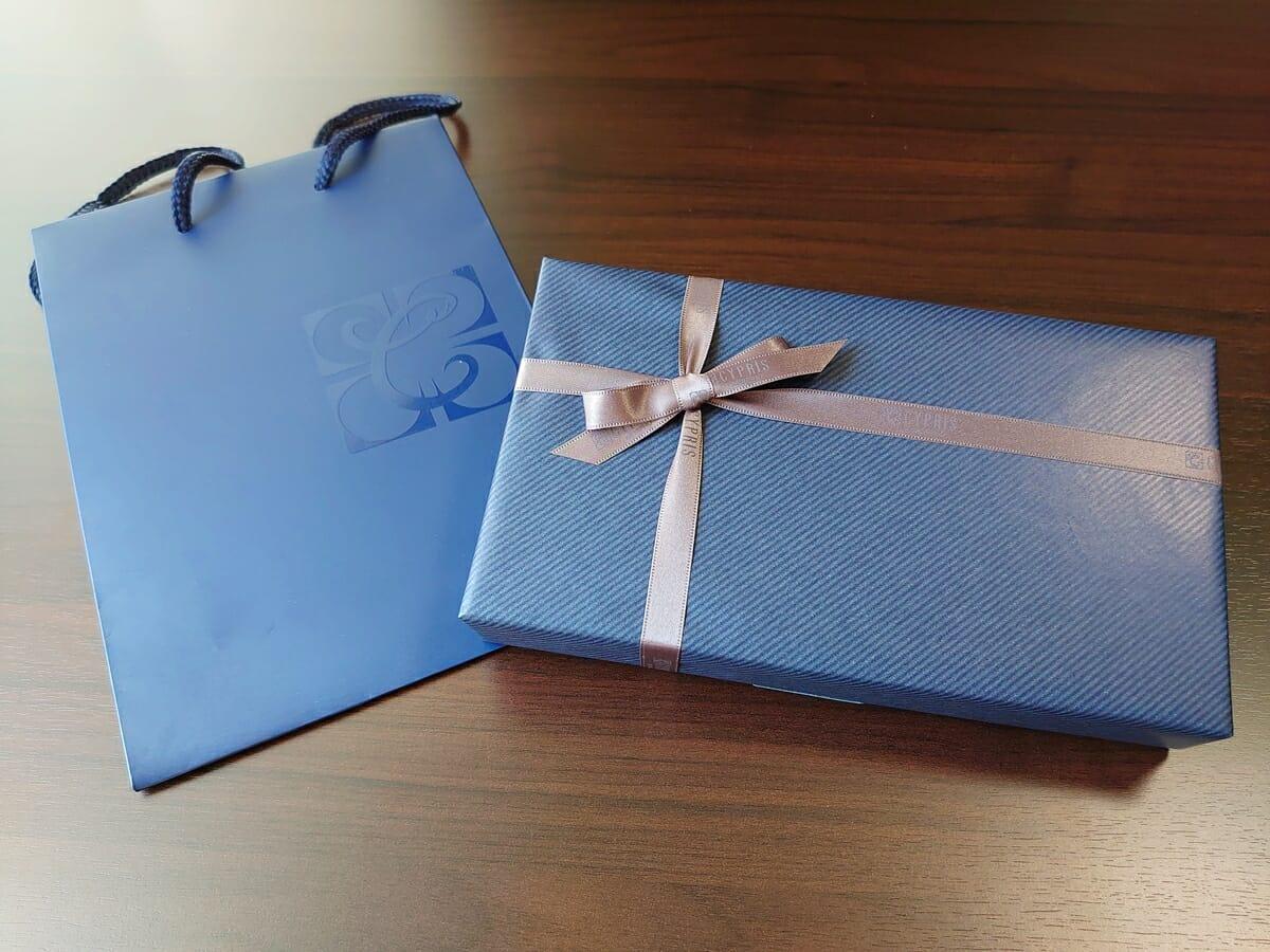 キプリス(CYPRIS)ラウンドファスナーハニーセル長財布(カスタムオーダー)ギフト包装 パッケージング ショップ袋