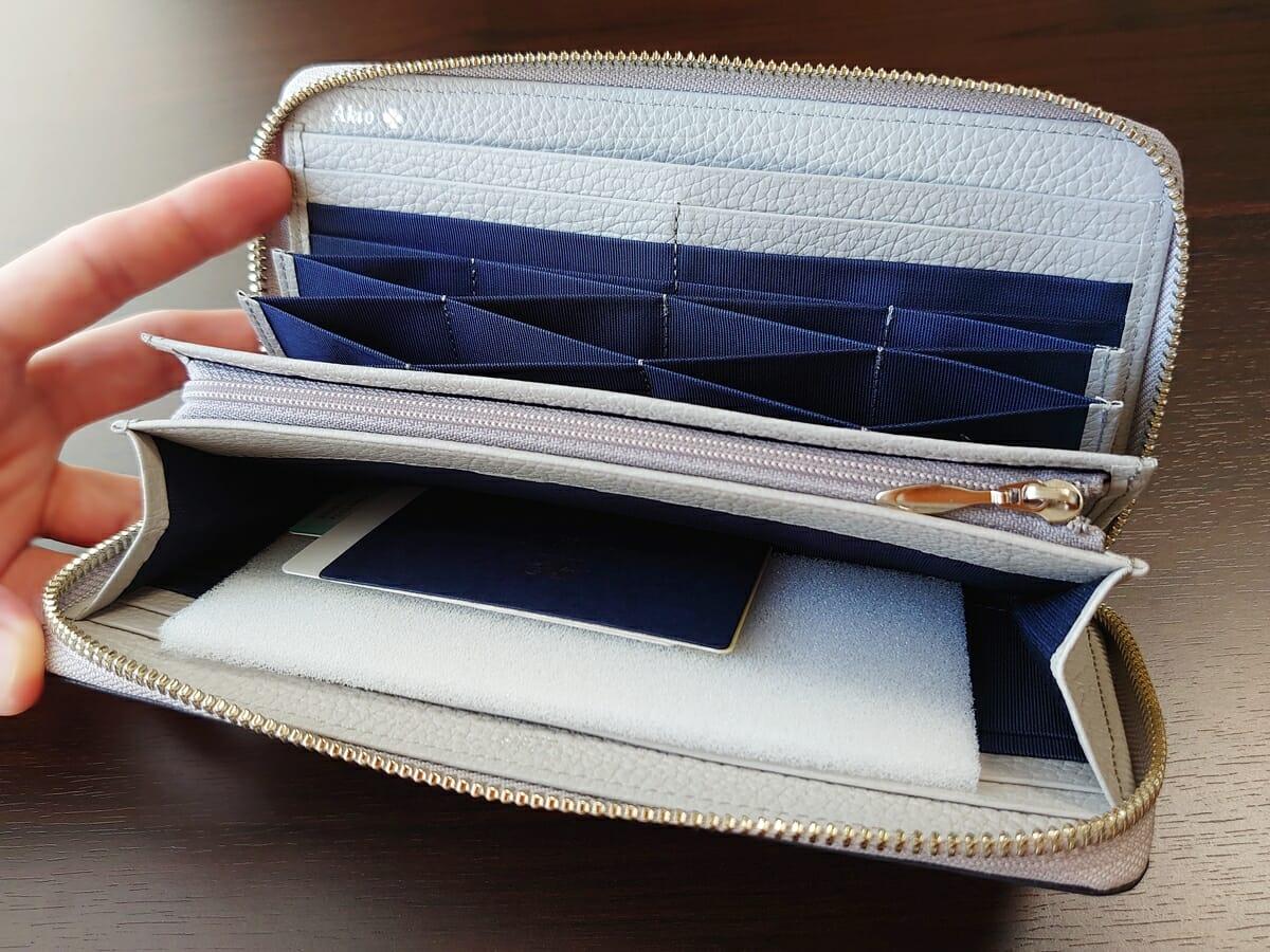 キプリス(CYPRIS)ラウンドファスナーハニーセル長財布(カスタムオーダー)内装デザイン2
