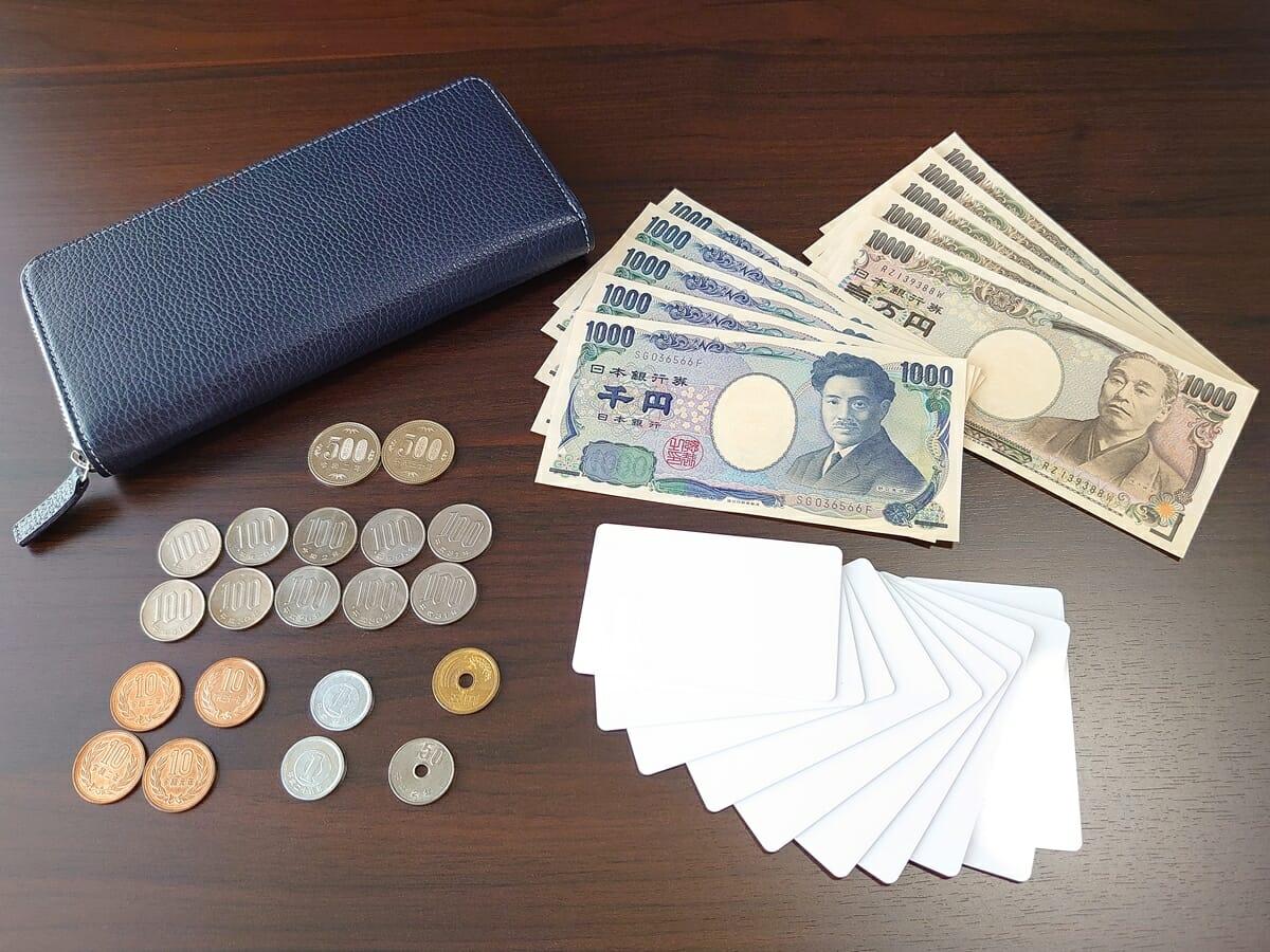 キプリス(CYPRIS)ラウンドファスナーハニーセル長財布(カスタムオーダー)お金とカード